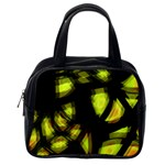 Yellow light Classic Handbags (One Side) Front