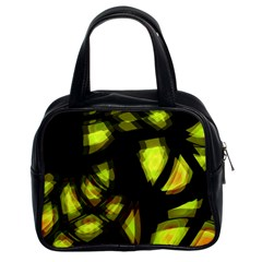 Yellow light Classic Handbags (2 Sides)