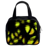 Yellow light Classic Handbags (2 Sides) Front