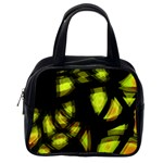Yellow light Classic Handbags (2 Sides) Back