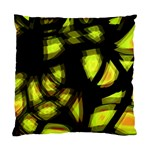 Yellow light Standard Cushion Case (Two Sides) Back