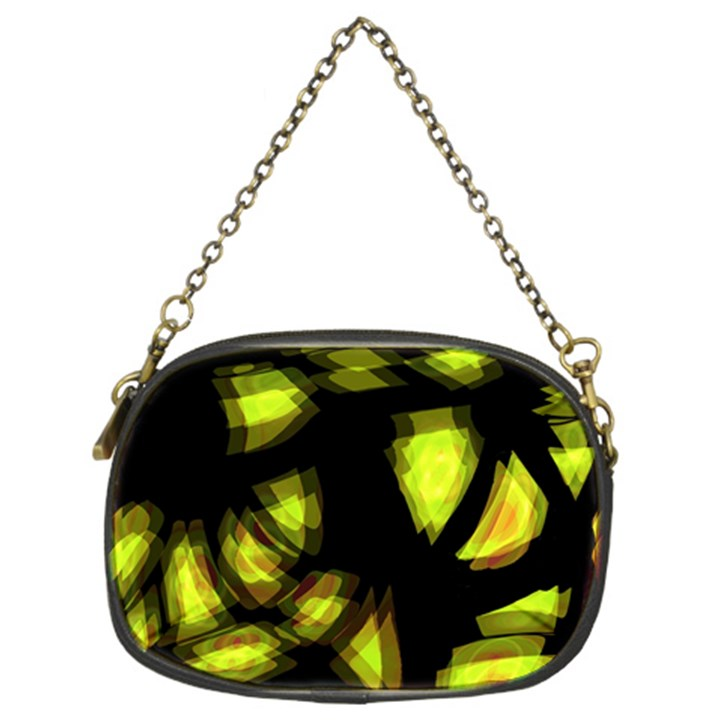 Yellow light Chain Purses (Two Sides)