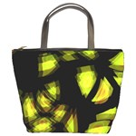 Yellow light Bucket Bags Front