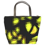 Yellow light Bucket Bags Back