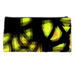 Yellow light Pencil Cases Back
