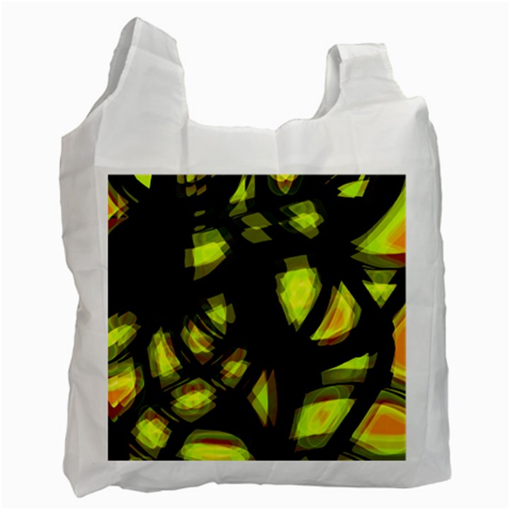 Yellow light Recycle Bag (One Side)