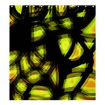 Yellow light Shower Curtain 66  x 72  (Large)  58.75 x64.8 Curtain