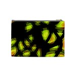 Yellow light Cosmetic Bag (Medium)  Back
