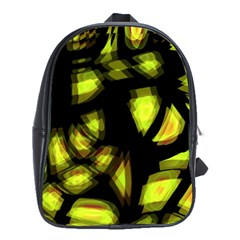 Yellow light School Bags(Large)