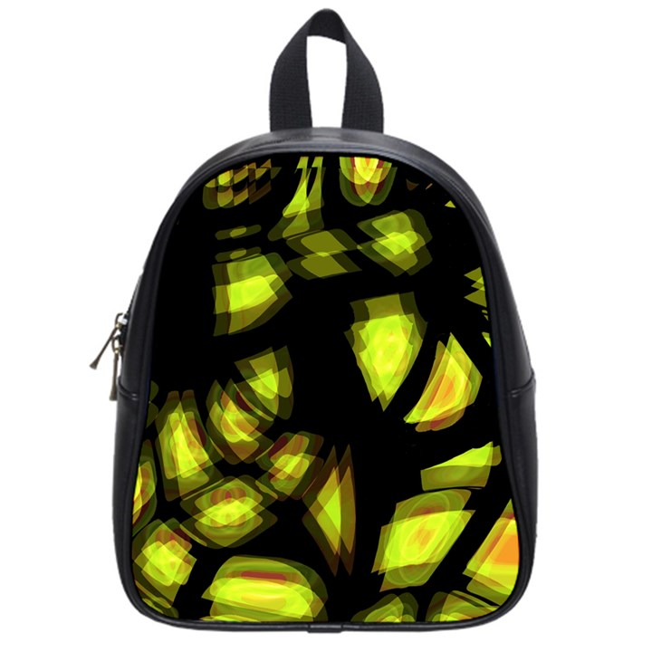 Yellow light School Bags (Small)