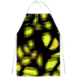 Yellow light Full Print Aprons Front