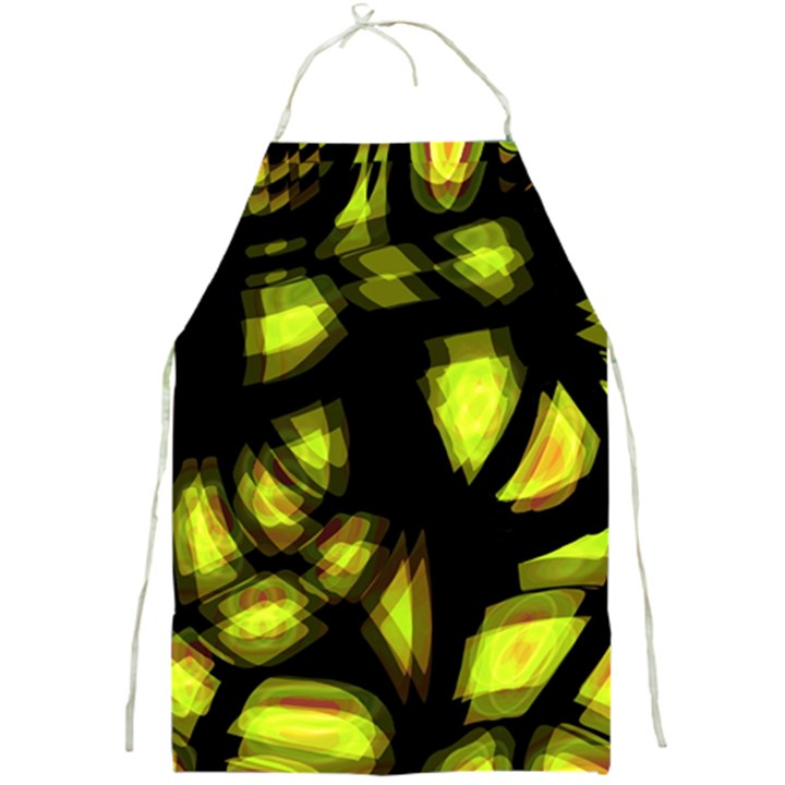 Yellow light Full Print Aprons