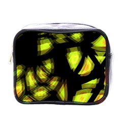 Yellow light Mini Toiletries Bags