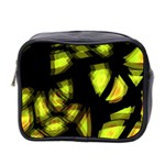Yellow light Mini Toiletries Bag 2-Side Front