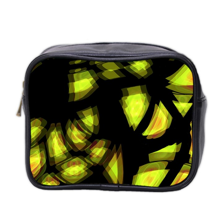 Yellow light Mini Toiletries Bag 2-Side