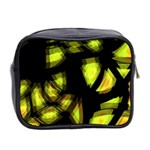 Yellow light Mini Toiletries Bag 2-Side Back