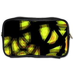 Yellow Light Toiletries Bags 2 Side