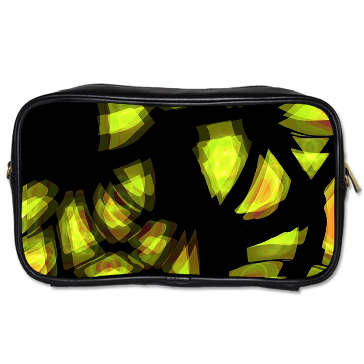Yellow light Toiletries Bags 2-Side