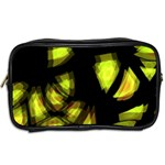 Yellow light Toiletries Bags 2-Side Back