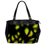 Yellow light Office Handbags Front