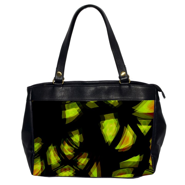 Yellow light Office Handbags