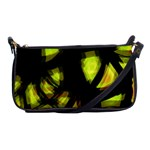 Yellow light Shoulder Clutch Bags Front