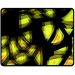 Yellow light Fleece Blanket (Medium)  60 x50 Blanket Front