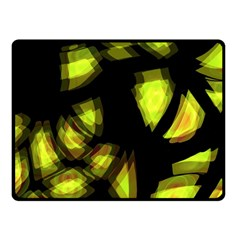 Yellow Light Fleece Blanket (small)