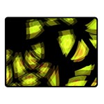Yellow light Fleece Blanket (Small) 50 x40 Blanket Front