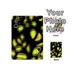 Yellow light Playing Cards 54 (Mini)  Front - Spade4