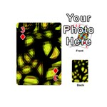 Yellow light Playing Cards 54 (Mini)  Front - Diamond3