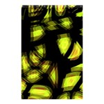Yellow light Shower Curtain 48  x 72  (Small)  48 x72 Curtain