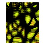 Yellow light Shower Curtain 60  x 72  (Medium)  54.25 x65.71 Curtain
