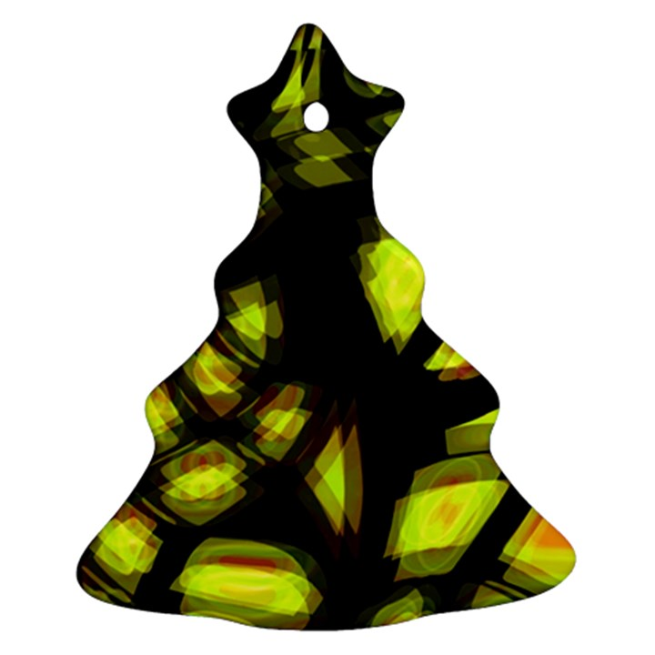 Yellow light Ornament (Christmas Tree)