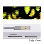 Yellow light Memory Card Reader (Stick)  Front