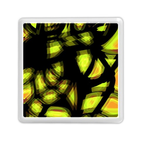 Yellow light Memory Card Reader (Square)