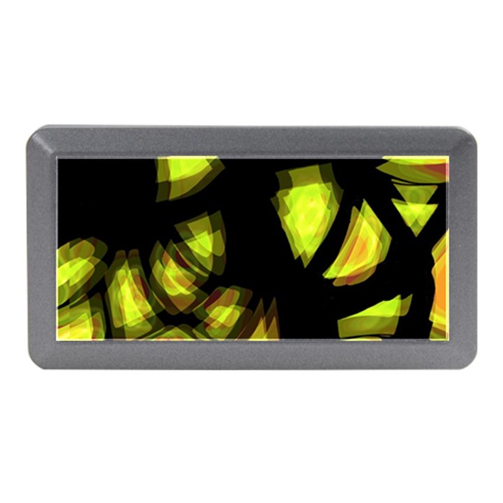 Yellow light Memory Card Reader (Mini)