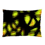 Yellow light Pillow Case (Two Sides) Back