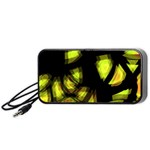 Yellow light Portable Speaker (Black)  Front