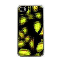 Yellow light Apple iPhone 4 Case (Clear)