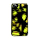 Yellow light Apple iPhone 4 Case (Clear) Front
