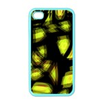 Yellow light Apple iPhone 4 Case (Color) Front