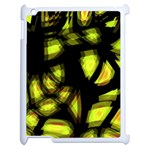Yellow light Apple iPad 2 Case (White) Front
