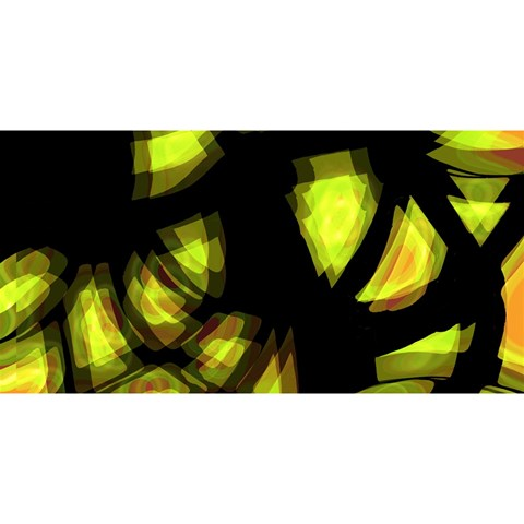 Yellow light YOU ARE INVITED 3D Greeting Card (8x4)
