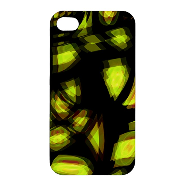 Yellow light Apple iPhone 4/4S Hardshell Case