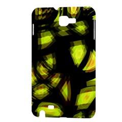 Yellow light Samsung Galaxy Note 1 Hardshell Case
