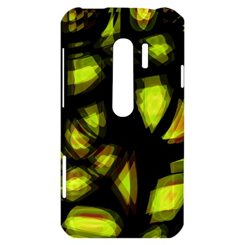 Yellow light HTC Evo 3D Hardshell Case