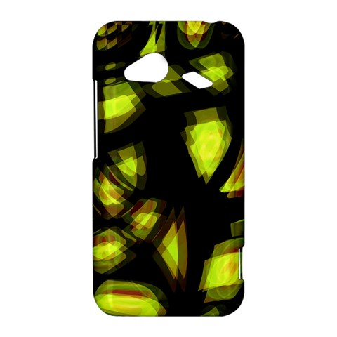 Yellow light HTC Droid Incredible 4G LTE Hardshell Case