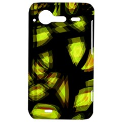 Yellow light HTC Incredible S Hardshell Case