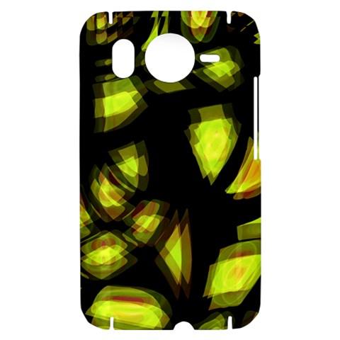 Yellow light HTC Desire HD Hardshell Case